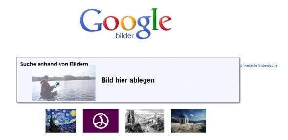 Fotos per Google-Bildersuche finden