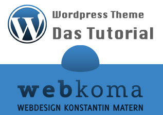 Sidebar, Header, Footer und Index.php – WordPress Theme erstellen: Tutorial [Teil 2]
